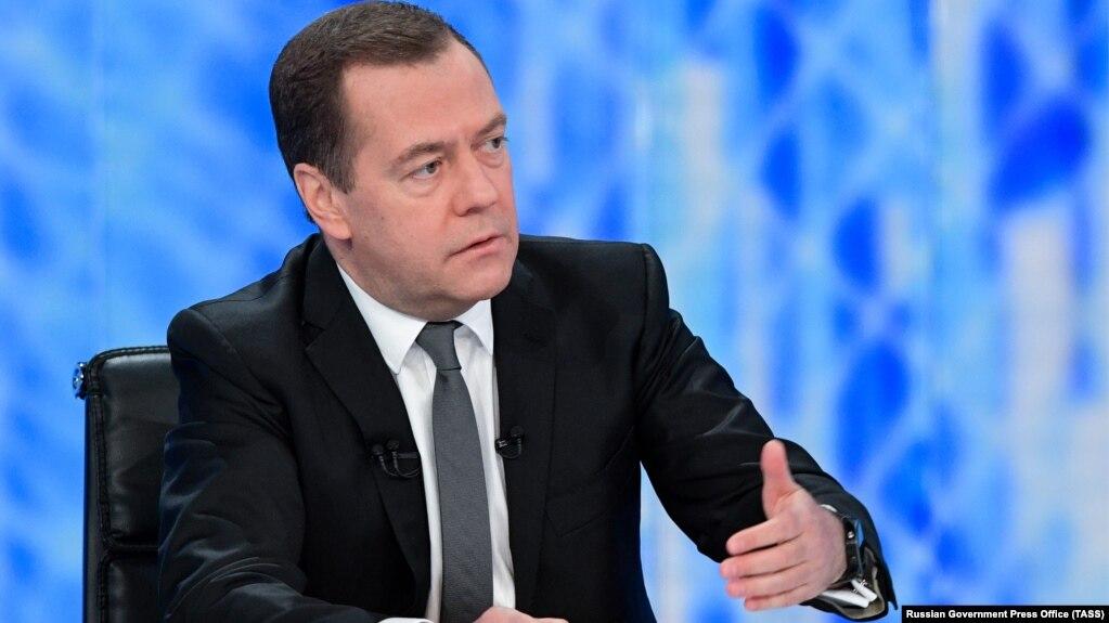 Russian Prime Minister Dmitry Medvedev (file photo)
