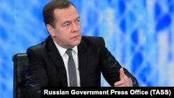 Дмитрий Медведев, 6 декабря 2018 г.