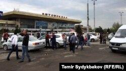 Автовокзал в Бишкеке.