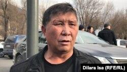 Kazakh activist Nurzhan Mukhammedov (file photo)