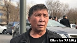 Гражданский активист Нуржан Мухаммедов. Шымкент, 5 декабря 2019 года.