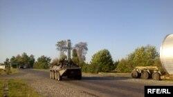 Поти. Российские войска уходят, грузинские возвращаются