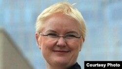 Депортированная из Узбекистана немецкая журналистка Эдда Шлагер.