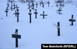 Место захоронения жертв ГУЛАГа. Воркута