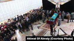 Прощание с генералом Рустемом Кайдаровым. Алматы, 29 декабря 2019 года.