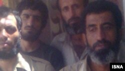Iranian news agencies published this picture as Iranian fisherman who captured by Somali pirates
