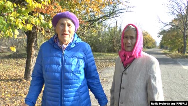 Жительницы Славяносербска