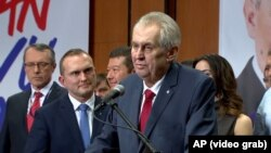 Miloš Zeman, reizabrani češki predsednik