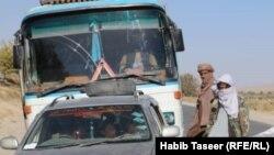 آریشف، طالبان شاهراه کندهار کابل