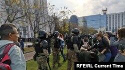 Protesta në Khabarovsk më 10 tetor.