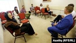 Михаил Дашкиевның татар журналистлары белән очрашуы