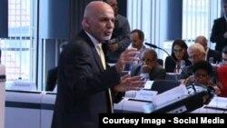 محمد اشرف غنی رئیس جمهور افغانستان