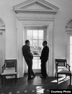 Nixon și Kissinger, secretar de stat SUA