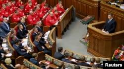 Заседание парламента Украины в Киеве. Иллюстративное фото.