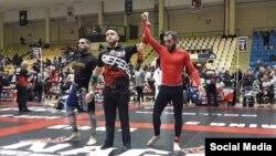 Абхазский боец смешанных единоборств Ахра Квициния стал пятикратным чемпионом мира по грэпплингу