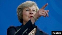 Մեծ Բրիտանիայի վարչապետ Թերեզա Մեյ, արխիվ