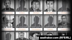 Политические заключённые из списка пропавших в туркменских тюрьмах международная кампании «Покажите их живыми!»
