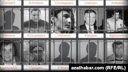 2002-nji ýylyň 25-nji noýabrynda Türkmenistanda şol wagtky prezident S.Nyýazowyň janyna kast etmäge synanyşyk etmekde aýyplanan onlarça adamyň ykbaly 14 ýyl bäri nämälim galýar.