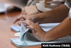 Подсчет голосов по итогам выборов-2017 в Единый день голосования