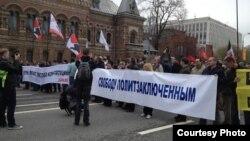 Під час акції в Москві 5 травня 2013 року, фото з твітеру marusia_bell