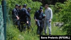 Montenegronyň polisiýasy