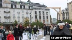 اعتراض در سوئد منبع: Rowzane.com