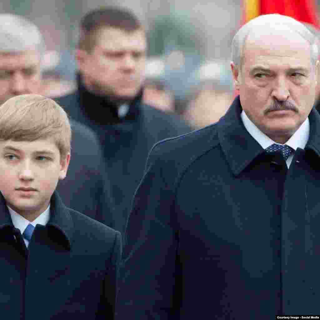 Коля і Аляксандар Лукашэнкі