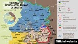 SItuația din regiunile estice ale Ucrainei, 28 august 2014