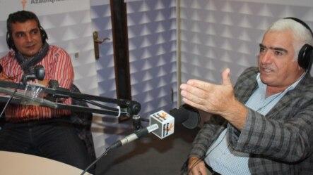 Rəhim Əliyev (sağda) və Natiq Cəfərli