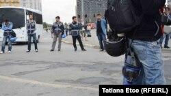 نیروهای لباس شخصی پلیس در درگیریها حضور داشتند