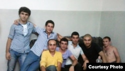 Armenia -- Seven activists of Armenian National Congress (HAK) in police custody, Yerevan, 09Aug2011