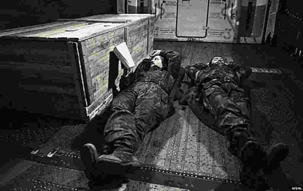 Беренче чечен сугышын фотога төшерү #17
