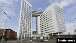 Pamje e ndërtesës së Gjykatës Ndërkombëtare Penale (ICC) në Hagë