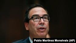 U.S. Treasury Secretary Steve Mnuchin. File photo
