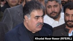 Balochistan's chief minister, Nawab Sanaullah Zehri (file photo)