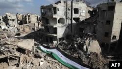 Cириянын талкаланган шаары.