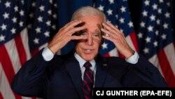 Candidatul democrat Joe Biden