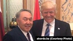 Donald Trump və Nursultan Nazarbayev yanvarın 16-da Ağ Evdə görüşüblər