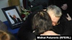 Komemoracija povodom smrti NIjaza Durakovića, 30. januar 2012.