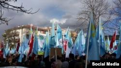 Анкарада протест чарасы 2015 елның 28 феврале