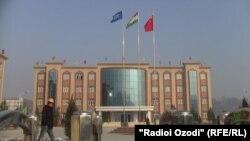 Душанбедеги жаңы Жылуулук электр борбору. 10-январь, 2014-жыл.