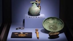'Aurul din Crimeea' expoziție la Allard Pierson Museum in Amsterdam, Olanda