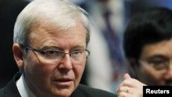 Kevin Rudd, kryeministri i ri i Australisë