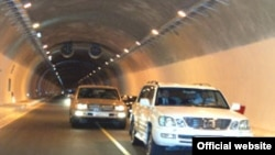 The tunnel was opened in an official ceremony on August 30, 2009.