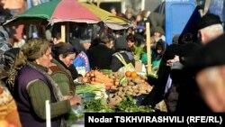 Рынок в Тбилиси, 12 февраля 2011