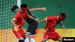 Матч сборной Китая на Играх в Рио-де-Жанейро