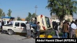 حادث مروري في أربيل