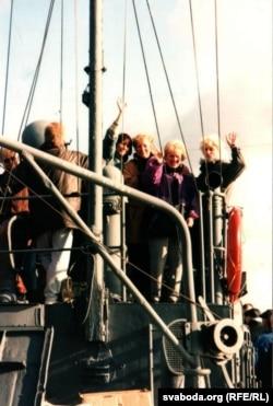Удзельнікі падарожжа па Прыпяці, другая палова 90-х