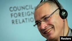 """Михаил Ходорковский – председатель фонда """"Открытая Россия"""""""