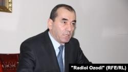Министр энергетики и водных ресурсов Таджикистана Усмонали Усмонзода.